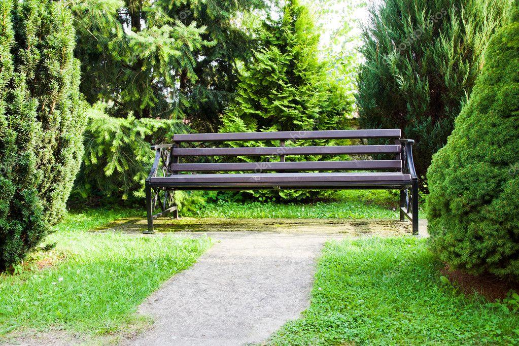 공원 벤치 — 스톡 사진 © ligora #6895221