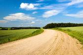 Ne asfaltové silnici — Stock fotografie