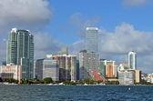 Miami Condo Skyline — Stock Photo