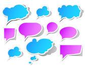 Speech bubbles — Stockvektor