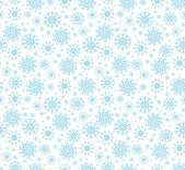 Snowflakes seamless — Stock Vector