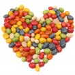 Candy heart — Stock fotografie