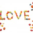 Candy love — Stock Photo