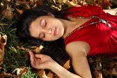Rêver en automne — Photo