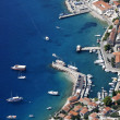 Bol harbour from air — Stock Photo #7146930