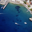 Bol harbour from air — Stock Photo #7146942