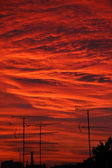 Urban sunset — Стоковое фото