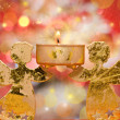 Christmas angels candle — Stock Photo #7226563
