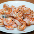 Roast shrimp — Stock Photo