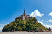 Mont Saint-Michel — Stockfoto