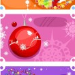 Christmas card set — Stock Vector #7582860
