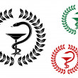 Medicine symbol - Imagen vectorial