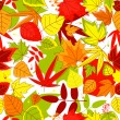 Autumnal seamless pattern — Stock Vector