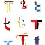 Alphabet letter T — Stock Vector #7314295
