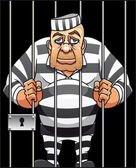 Yakalanan tutuklu — Stok Vektör