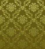 Seamless damask pattern — Stock Vector