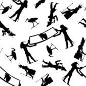Bezszwowe hieroglifów — Wektor stockowy