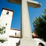 Croce all'aperto — Foto Stock