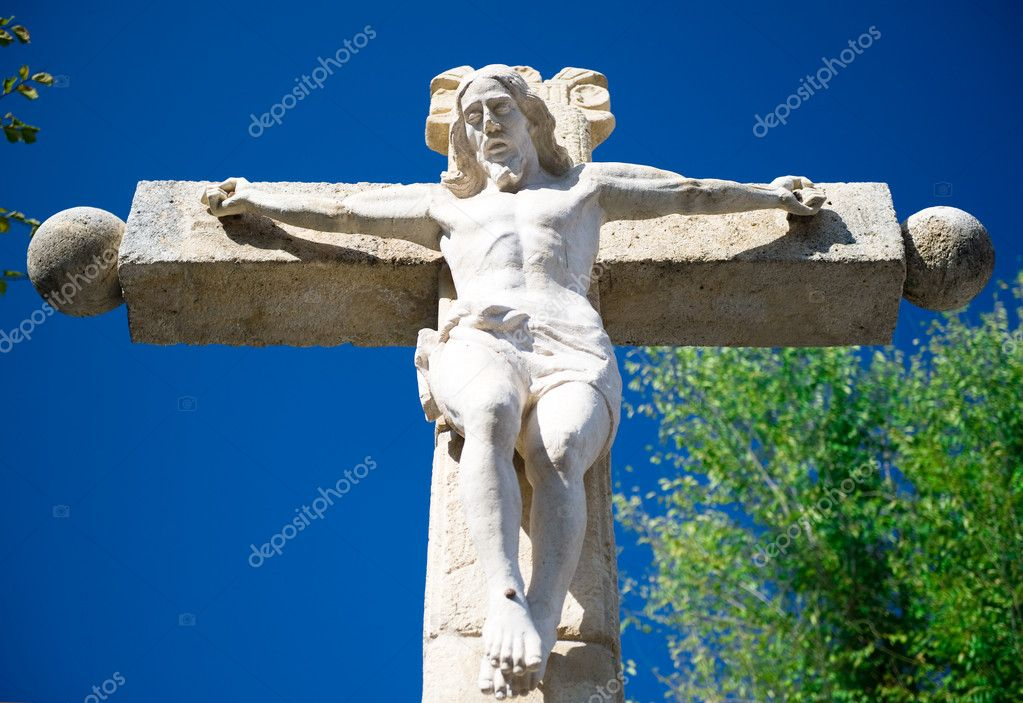 Jesus Christ on a crucifix — Lizenzfreies Foto #6985780