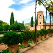 Alhambra courtyard — Photo