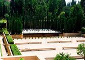 Kasteel van het alhambra in granada, spanje — Stockfoto