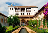 Alhambra palace — Stock Photo