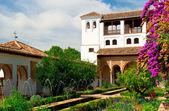 Hotel alhambra palace — Zdjęcie stockowe