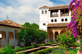 Palácio de alhambra — Foto Stock