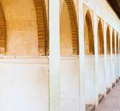 Alhambra arches — Stock Photo