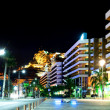 Alicante at night - Stock Photo