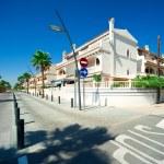 View of Costa Blanca street — Stock Photo #7014674