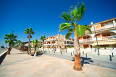 General street view in Costa Blanca — Stock Photo