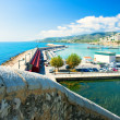 View of the Peniscola port in Valencia, Spain — Stock Photo #7020654