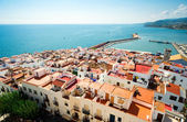 View of the Peniscola town Valencia, Spain — Stock Photo