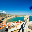 View of the Peniscola town — Stock Photo #7114285