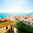 Stock Photo: View of Peniscolport. Valencia, Spain