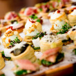 Delicious appetizer close-up — Stock Photo