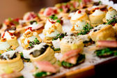 Delicious appetizer close-up — Foto Stock