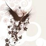 Birds in love design — Stock Vector