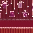 Set of cute gifts boxes and elements for design — 图库矢量图片