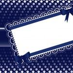 Gift Card. Vector Illustration — Stock Vector