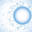 Abstract light blue background - Vektorgrafik