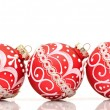 Royalty-Free Stock Photo: Beautiful red christmas decoration ball