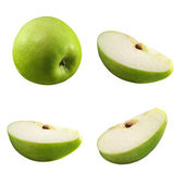 Pieces of apple — Stock Photo