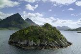 Island on sea Vester — Stock Photo