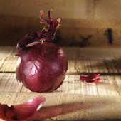 Salade with rasberry's — Photo