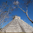 Chichen Itza Kukulkan temple — Stock Photo