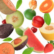 Fruit background — Stock Photo #7205046