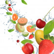 Fresh fruit in motion — Stock Photo #7205441