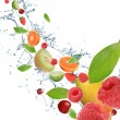 Fresh fruit in motion — Stock Photo #7205614